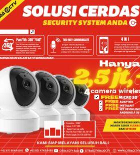 Berbagai  smart promo dari kami untuk security system anda
